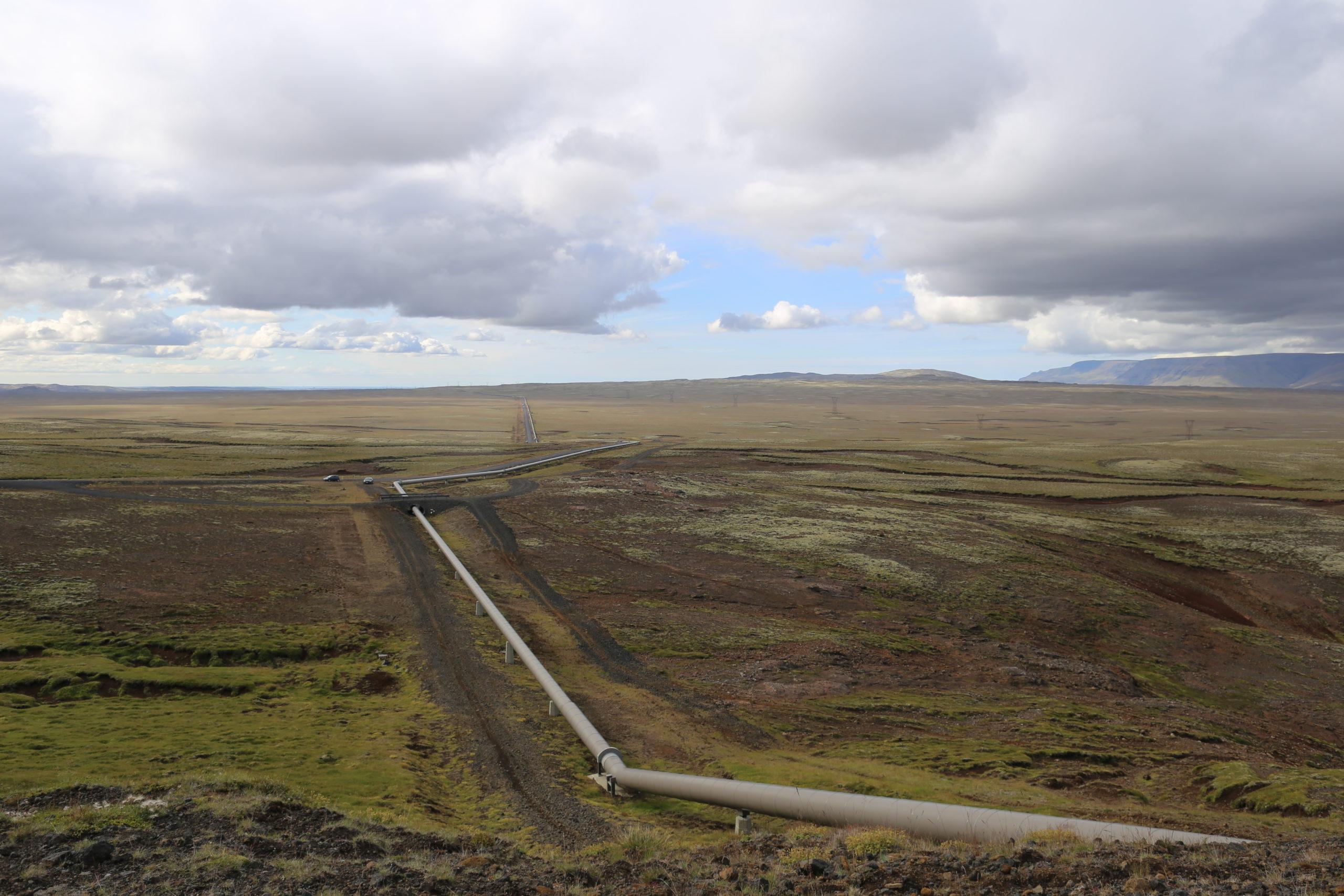 Heat Pipe from Hellisheiði